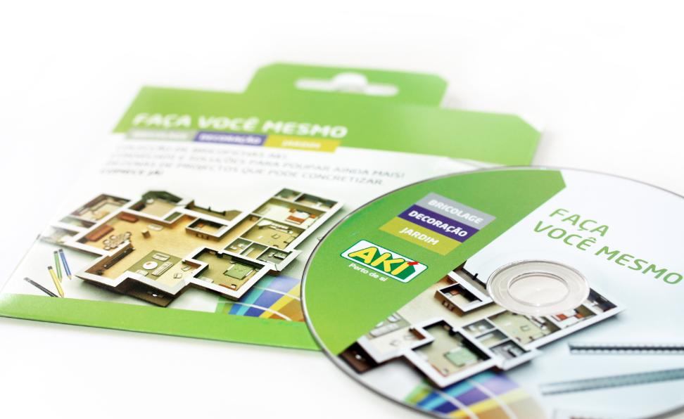 AKI | DVD Bricofichas 1a edição