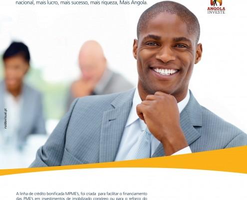 Banco Caixa Totta de Angola | Campanha MME´s