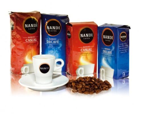 Nandi Cafés | Packaging