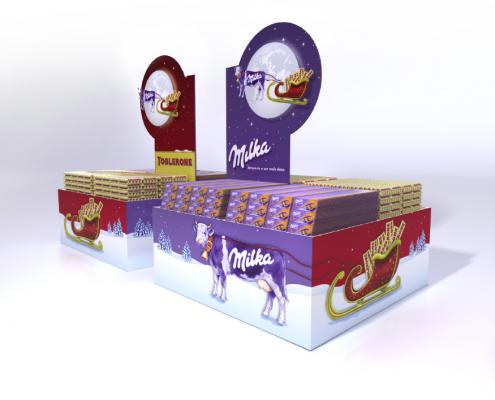 Milka/Toblerone | Natal | POS