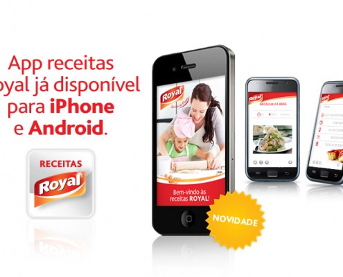 Royal | App Receitas Royal