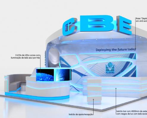 CBE :: Projecto Stand FUTURECOM - Rio de Janeiro- BRASIL