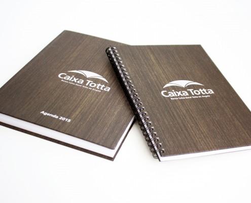 Caixa Totta de Angola :: Agenda 2015 e Cadernos